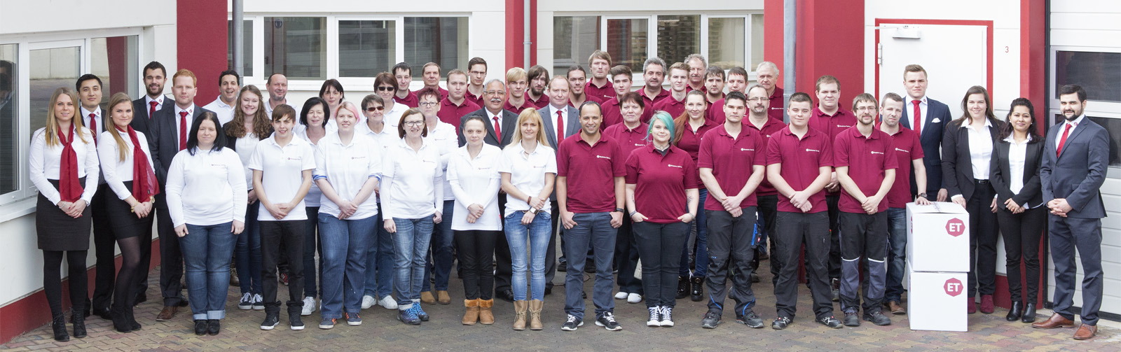 Team der ET Elastomer Technik GmbH