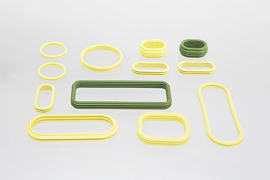 lip seals from liquid silicone for automotice